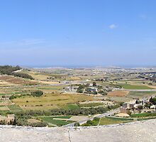 Malta Countryside Panorama  by Stanislav Sokolov