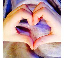 I heart you! Photographic Print