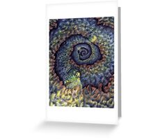 Tunneling Greeting Card