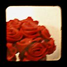 red roses by Shannon Byous Ruddy