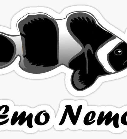 Emo Nemo Sticker