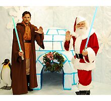 Jedi Christmas Photographic Print
