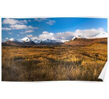 Rannoch Moor, Scottish Highlands Poster