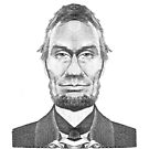 Abraham Lincoln caricature by kislev
