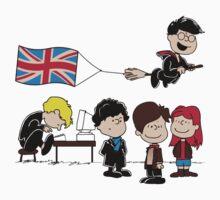 Brit Peanuts Kids Tee
