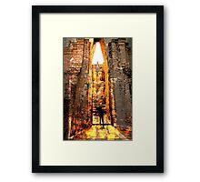 Buddha Sunrise Sri Chum Temple Framed Print