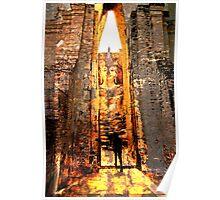 Buddha Sunrise Sri Chum Temple Poster