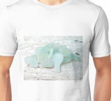 Sea Foam Sea Glass Bright and Pale Unisex T-Shirt