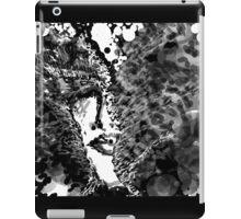 My mad man - Black and white iPad Case/Skin