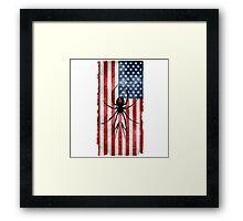 Killjoy Flag Framed Print