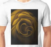 Textured Yellow Rose Unisex T-Shirt