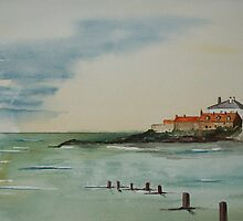 """St Marys' Lighthouse""  by Alan Harris"