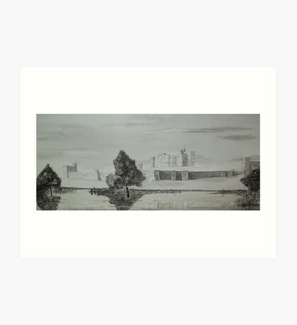 """Alnwick Castle"" Art Print"