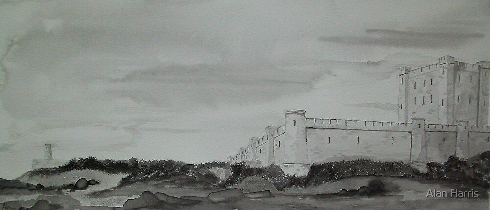 """Bamburgh Castle"" by Alan Harris"
