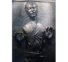 Han Solo Carbonite Photographic Print
