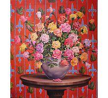 Rosas y Ranitas Photographic Print