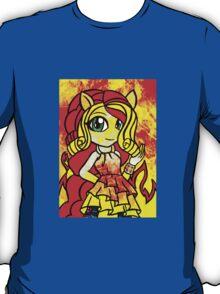 Rainbow Rocks - Sunset Shimmers On T-Shirt