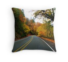Taking the Back Road to Roseburg on Territorial  Throw Pillow