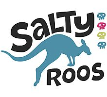 Team Salty Roos Photographic Print