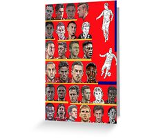 Arsenal Squad 2014-15 Greeting Card
