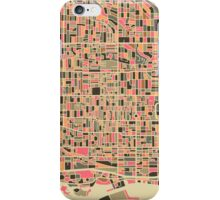 TORONTO MAP iPhone Case/Skin