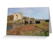Bunratty castle Greeting Card