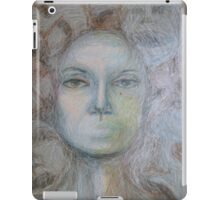 Faces - Portrait In Black And White iPad Case/Skin