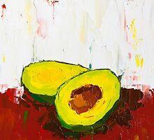 Halves of an Avocado by ebuchmann