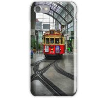 A Tramcar in Christchurch... iPhone Case/Skin