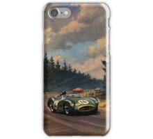 Aston Martin DBR1 - Vintage Racing Car Advertising Print - reproduction iPhone Case/Skin