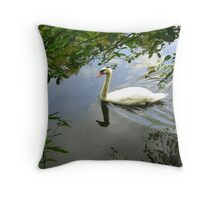 Framed by Nature Throw Pillow