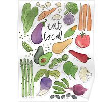 Eat More Veggies Poster