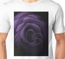 Textured Lilac Rose Unisex T-Shirt