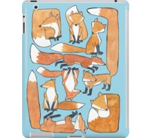 Foxes Collage iPad Case/Skin