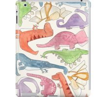 Dinosaur Collage iPad Case/Skin
