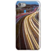 Motorway Light Trails iPhone Case/Skin