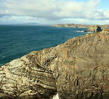 Mizen Head coastline by John Quinn