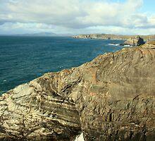 Mizen Head coastline by John Quinn