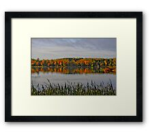 Majestic Autumn Framed Print