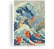 THE GREAT WAVE OFF KANAGAWA POKEMON Canvas Print