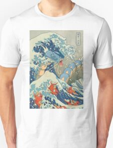 THE GREAT WAVE OFF KANAGAWA POKEMON T-Shirt