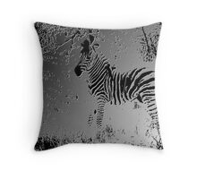 ZEBRA MOLD BABY Throw Pillow