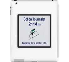 Col du Tourmalet Sign Tour de France Cycling iPad Case/Skin