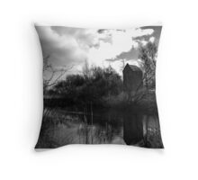 Reflections on a Canal 2 Throw Pillow