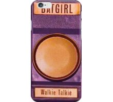 BATGIRL Walkie Talkie Phone Case iPhone Case/Skin