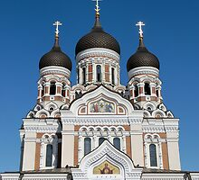 St. Alexander Nevsky Cathedral  by Stanislav Sokolov