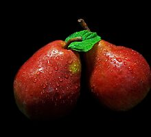 Red Pears by jerry  alcantara