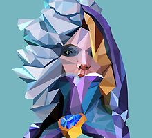 Low Poly Crystal Maiden by Morware
