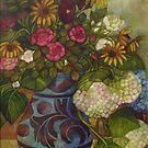 still life with tiroler pot by elisabetta trevisan