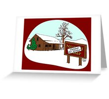 Clothed for Winter Greeting Card